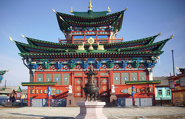 Дворец хамбо-ламы Итигэлова в Иволгинском дацане